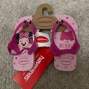 Minnie Mouse Toddler Havaianas